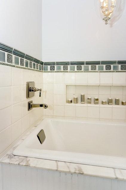 Traditional Bathroom by Amoroso Design