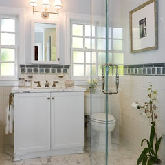 traditional bathroom by Amoroso Design