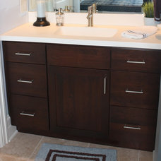 Contemporary Bathroom by Cabinet Style