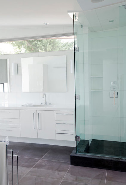 Contemporary Bathroom by Tanya Schoenroth Design