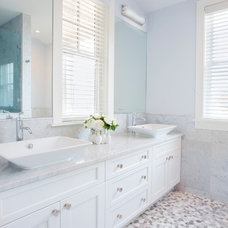 Beach Style Bathroom by Christopher's Home Furnishings of Nantucket, Inc.