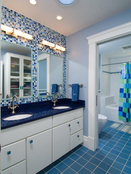 Blue Bathroom Design Ideas Remodel Pictures – Blue Bathroom