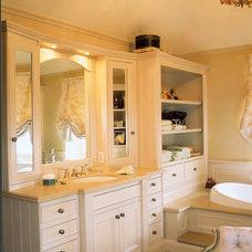 Traditional Bathroom by Hutton Bielmann Design Inc.
