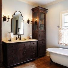 Contemporary Bathroom by Keystone Millworks Inc