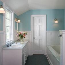 Eclectic Bathroom by Bushman Dreyfus Architects