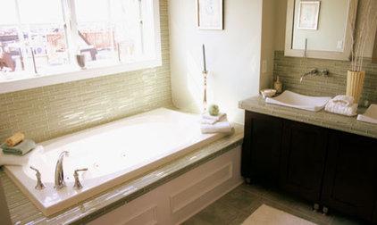 Contemporary Bathroom by Busybee Design
