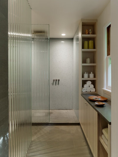 Modern Bathroom by Buttrick Projects Architecture + Design