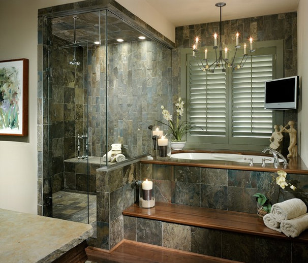 Contemporary Bathroom by bw design group