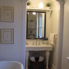 Traditional Bathroom by HARDROCK CONSTRUCTION