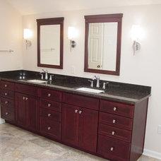 Eclectic Bathroom by Kitchen & Bath Etc.