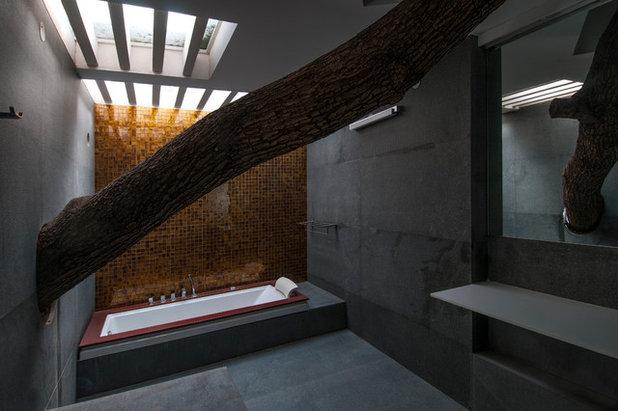 Contemporary Bathroom by Architecture Paradigm