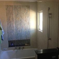 Contemporary Bathroom by Castle Construction of Santa Barbara