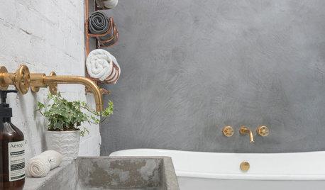Просто фото: Хранение полотенец в ванной