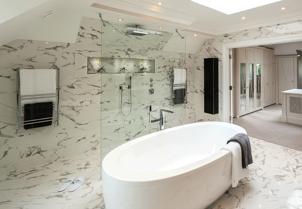 contemporain salle de bain by cp hart bathrooms - Faience Marbre Salle De Bain