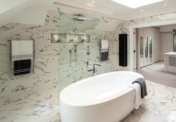 Opter pour du marbre dans la salle de bains bonne ou for Ou acheter salle de bain