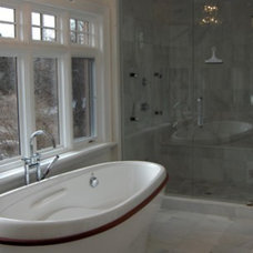 Traditional Bathroom by c3d design