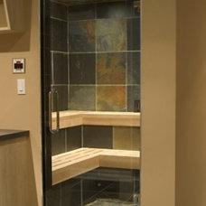 Contemporary Bathroom by c3d design