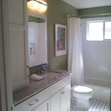 Contemporary Bathroom by Mise en Place Design
