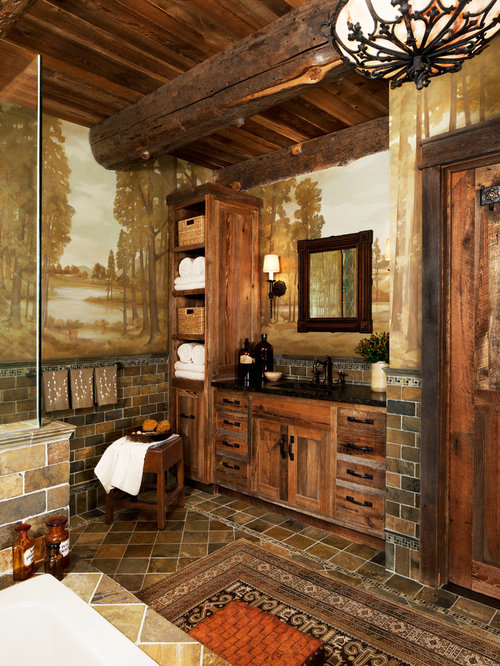 Best Rustic Bathroom Design Ideas & Remodel Pictures | Houzz