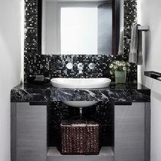 Modern Bathroom by Heffel Balagno Design Consultants