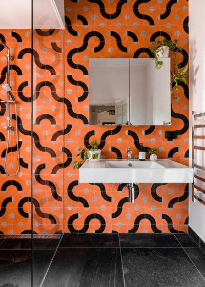 Modern Badezimmer by Perversi-Brooks Architects