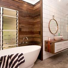Contemporary Bathroom by Sam Davison Interiors