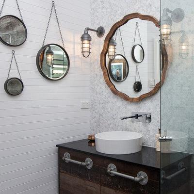 Industrial Bathroom by Sam Davison Interiors