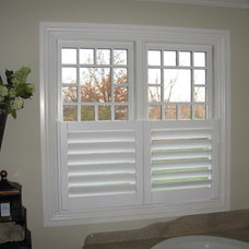 Traditional Bathroom by ASAP Blinds