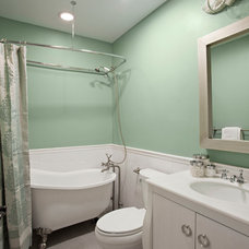 Contemporary Bathroom by Caisson Studios