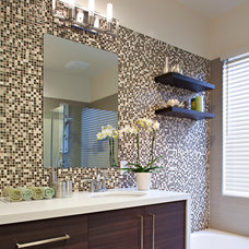 contemporary bathroom by Elan Designs