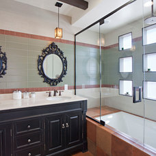 Contemporary Bathroom by Caisson Studios
