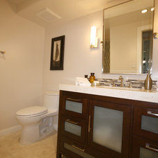Contemporary Bathroom by Cottages and Castles