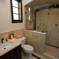 Mediterranean Bathroom by Kasis Construction Inc.