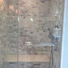 Contemporary Bathroom by CMM Tile