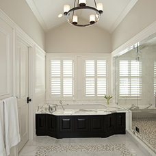 Traditional Bathroom by Art of Tile and Stone