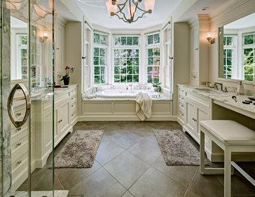 Calacatta Manhattan Marble Bathroom