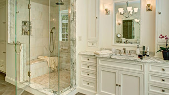 Calacatta Manhattan Marble Bathroom