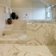 Contemporary Bathroom by mary elizabeth hulsey