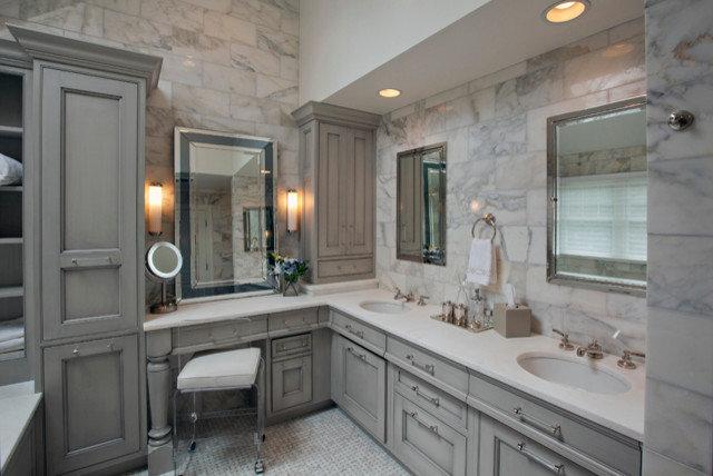 Transitional Bathroom by Stoneshop
