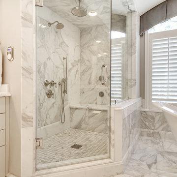 Calacatta Marble Master Bath