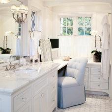 Traditional Bathroom by Benson Interiors, Inc.