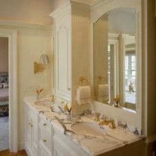 Traditional Bathroom by Morningstar Stone & Tile