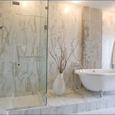 Contemporary Bathroom by mary elizabeth hulsey
