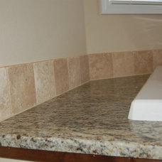 Traditional Bathroom by Capital Builders, LLC