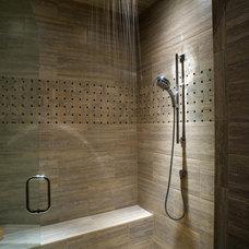 Contemporary Bathroom by Cherie Myrick Interiors