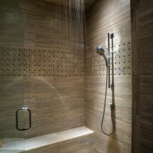 Hand held shower installs