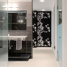 Asian Bathroom by 2001 Interiors - General Contracting Firm