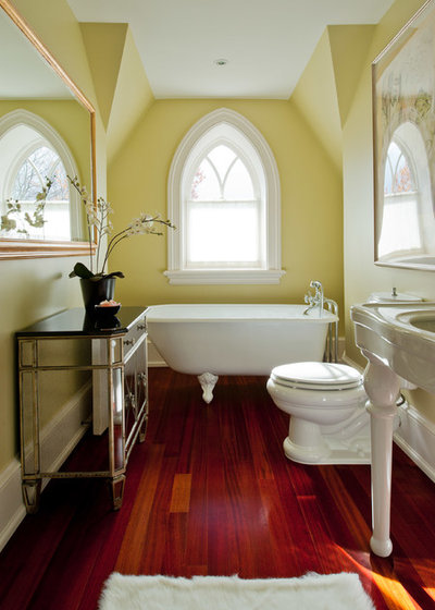 Traditional Bathroom by Brenda Liu Photography