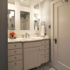 Traditional Bathroom by Bauer Clifton Interiors