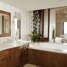 Beach Style Bathroom by mark cutler